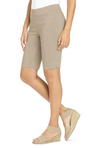Casual Classic Fit Pull-On Bermuda Short - Plus
