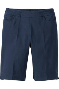 Classic Fit Pull-On Bermuda Short - Plus