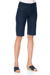 Classic Fit Pull-On Bermuda Shorts By Slim-Sation