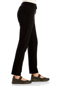 French Terry Slim Pull-On Pant