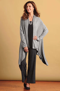 Yummy Yarn Drape Cardigan by Nally & Millie®