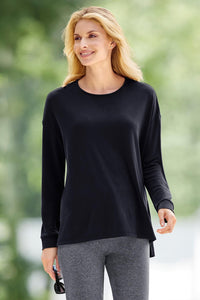 Active Modal Scoop Neck Top
