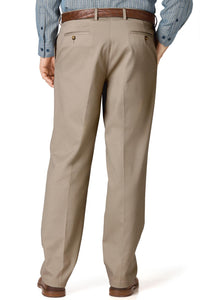 Traveler's Twill Flat-Front Pants