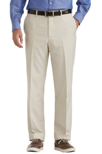 Tropical Microfiber Flat Front Pants