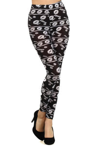 Act Kiss Print Legging - Misses