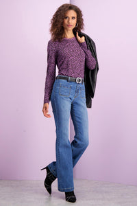 Petite Dnm Two Pocket Jeans