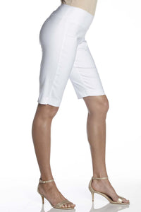 Plus Super Slimmer Bi-Stretch Shorts