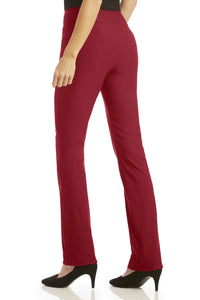 Petite Super Slimmer Bi-Stretch Bootcut Pants
