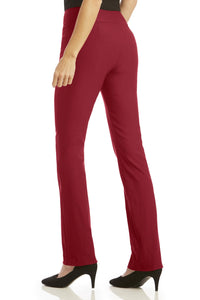 Super Slimmer Bi-Stretch Bootcut Pants - Misses
