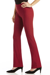 Super Slimmer Bi-Stretch Bootcut Pants - Petite