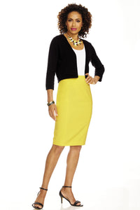 Suiting Pencil Skirt - Petite