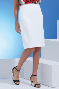 Suiting Pencil Skirt - Plus
