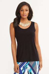 Essential Knit Scoopneck Tank - Misses