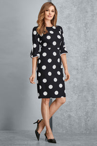 Misses M Drs Polka Dot Dress