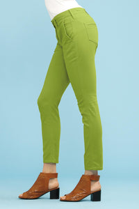 Brushed Twill Slim Pant - Misses