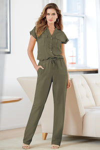2 Pocket Jumpsuit - Tall