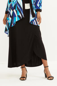 Essential Knit Faux Wrap Skirt - Misses