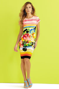 Bold Print Dress - Misses