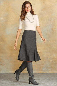 Tall Skt Aline Wool Skirt