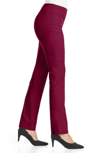 Bistretch Straight Leg Pants - Misses