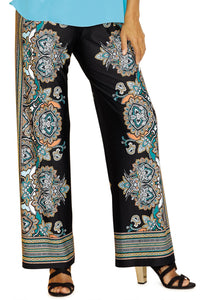Printed Soft Knit Pant - Misses