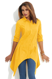 Blouses Seamed Fashion Tunic-Tall