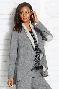 Misses M Leis Elbow Patch Jacket