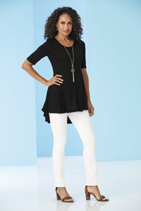 Misses M Knt Hi Low Tunic