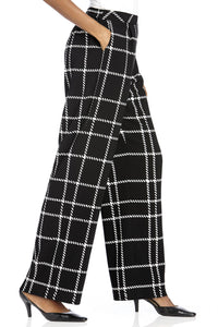 Windowpane Pant - Misses