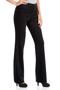 Brushed Twill Bootcut Trousers - Misses