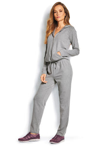 Misses M Leis French Terry Jumpsuit Activewear