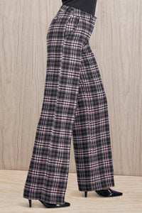 Wool Wide Leg Pants - Missy