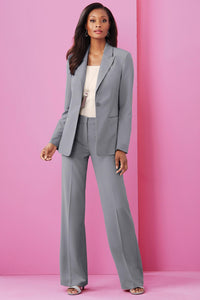 Pants New Wide Leg Suiting Pant - Petite