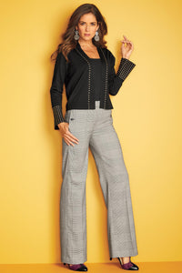 New Wide Leg Suiting Pant - Misses