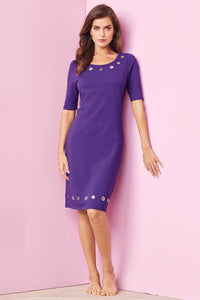 Tall Act Grommet Dress