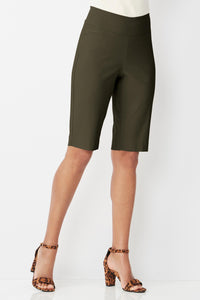Super Slimmer Bi Stretch Modern Shorts - Petite