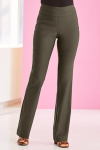 New Bi Stretch Bootcut Pant - Plus