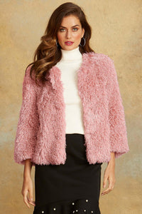 Poodle Shrug Jacket - Misses