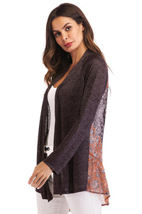 Ladies L/S Knit Open Cardigan -Misses