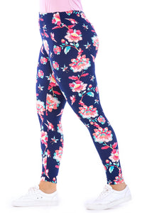 Plus M Pnt Multi Printed Legging