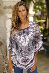 Misses M V-Shaped Poncho W/Tank