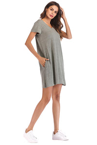 Short Sleeve Dress - Misses