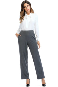 Pull On Dress Pant With Pockets - Misses