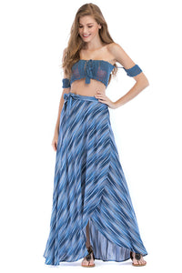 Misses M Skt Wrap Maxi Skirt