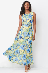 Self Tie Maxi Dress - Misses