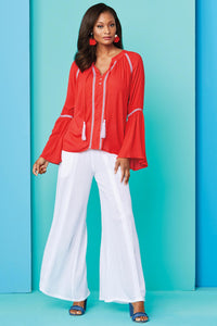Gauze Pant Set - Misses