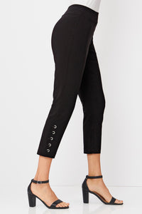 Misses M Pnt Stretch Crop Pants With Grommets