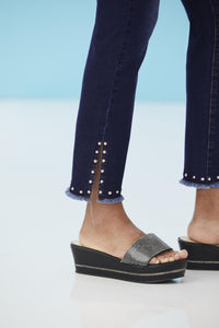 Denim Fashion Denim With Studs - Tall