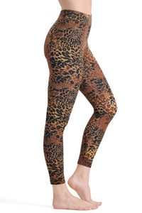 Printed Wide Waistband Leggings - Tall