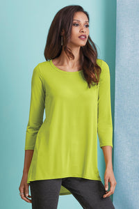 3/4 Sleeve Knit Tunic - Misses
